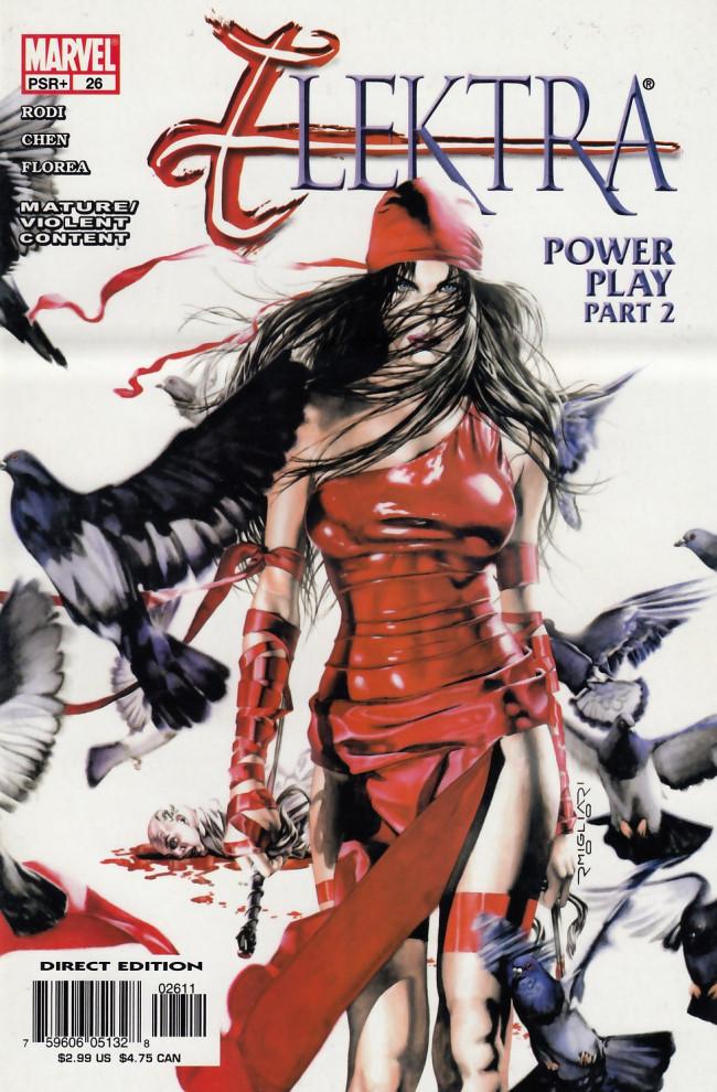 Couverture de Elektra (2001) -26- Power play part 2