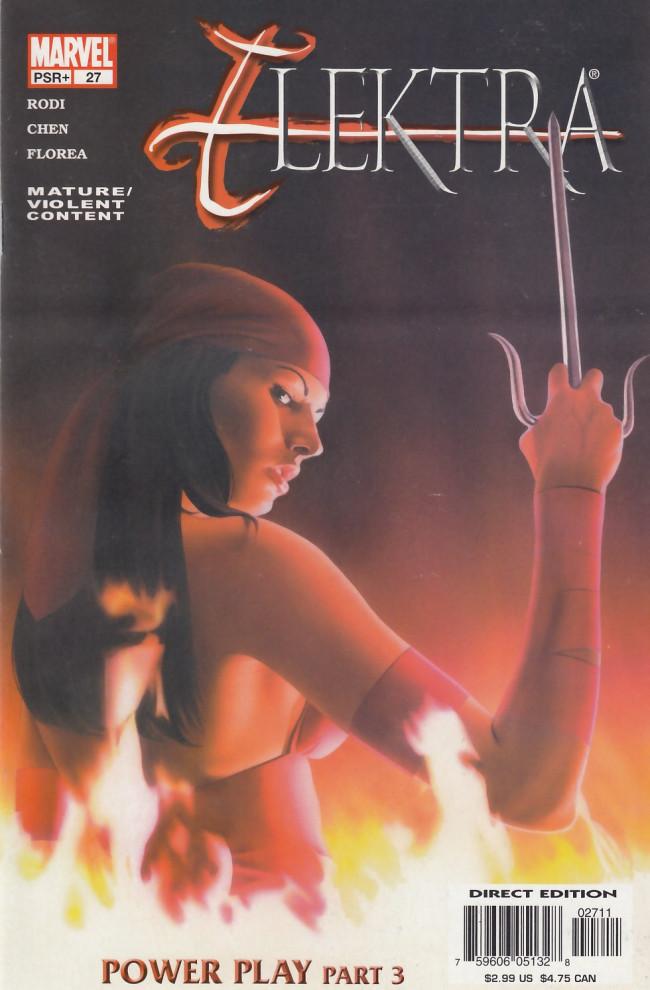 Couverture de Elektra (2001) -27- Power play part 3