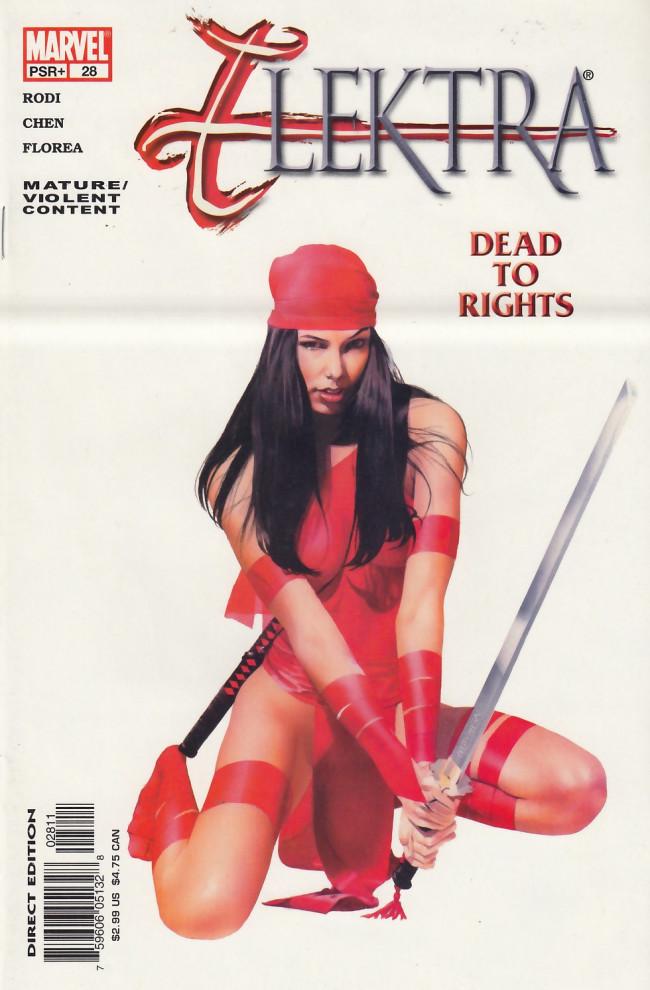 Couverture de Elektra (2001) -28- Dead to rights