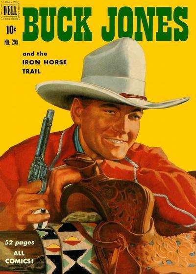 Couverture de Four Color Comics (1942) -299- Buck Jones and the Iron Horse Trail