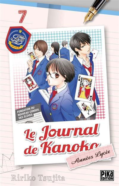 Couverture de Le journal de Kanoko -7- Tome 7