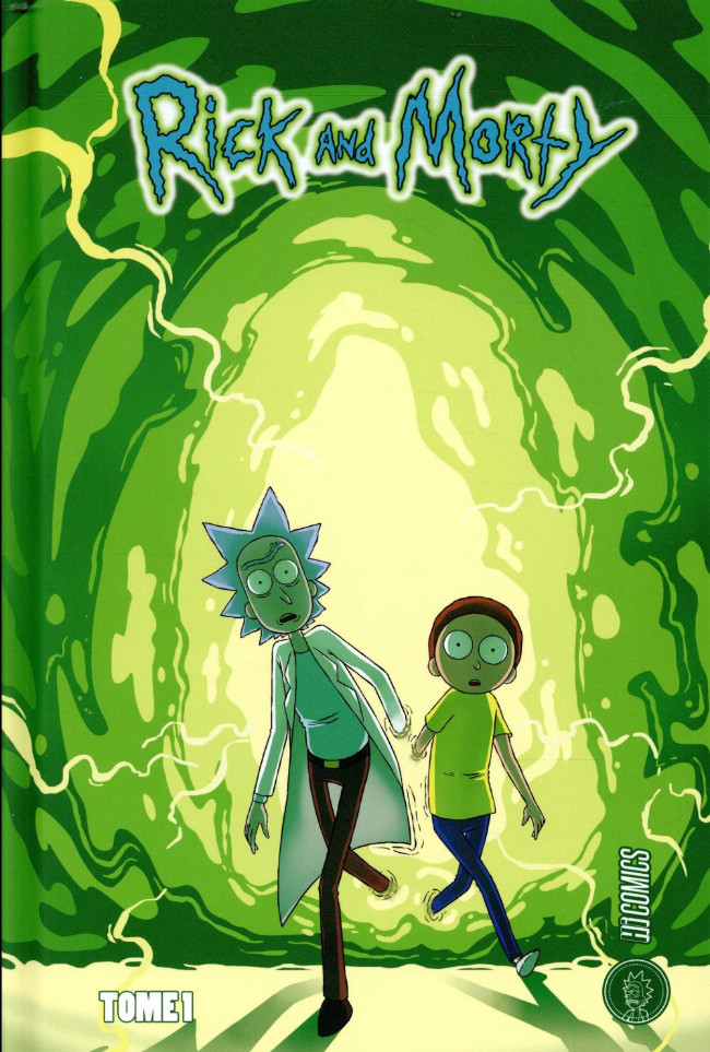 Couverture de Rick and Morty -1- Tome 1