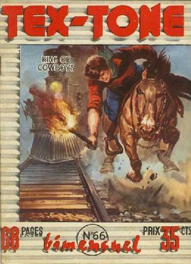 Couverture de Tex-Tone -66- Tex-Tone contre l'homme masqué
