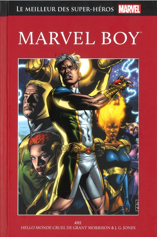 Couverture de Marvel Comics : Le meilleur des Super-Héros - La collection (Hachette) -56- Marvel Boy