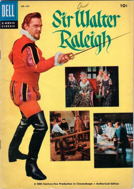 Couverture de Four Color Comics (Dell - 1942) -644- Sir Walter Raleigh