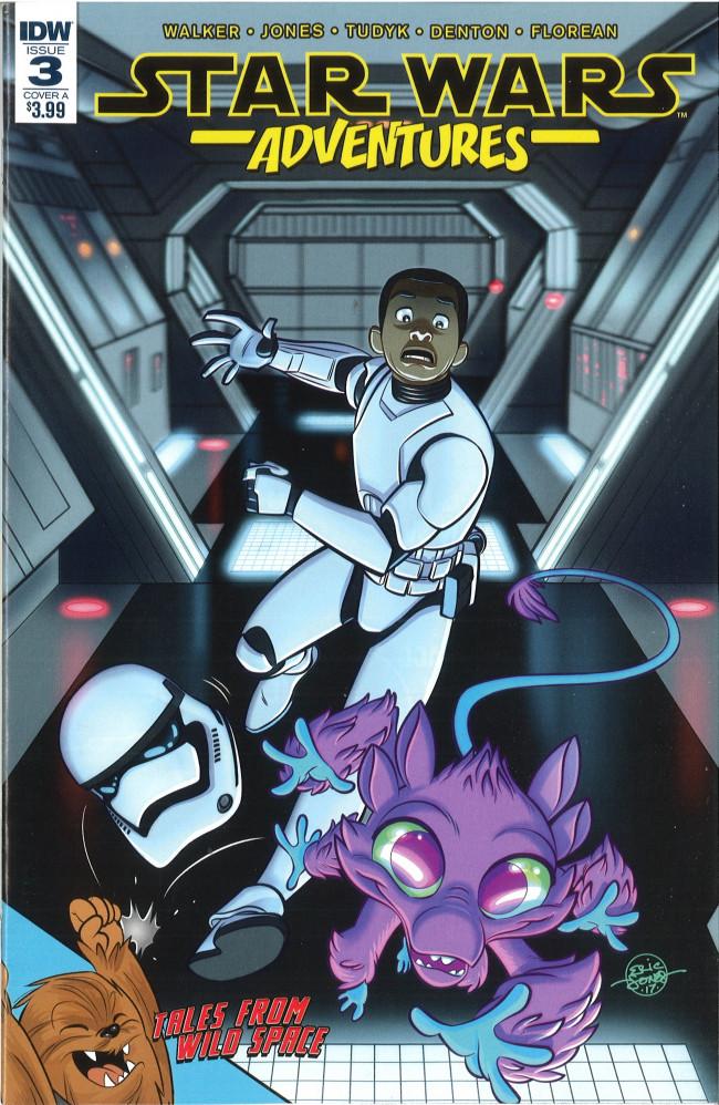 Couverture de Star Wars Adventures (2017) -3- Pest Control