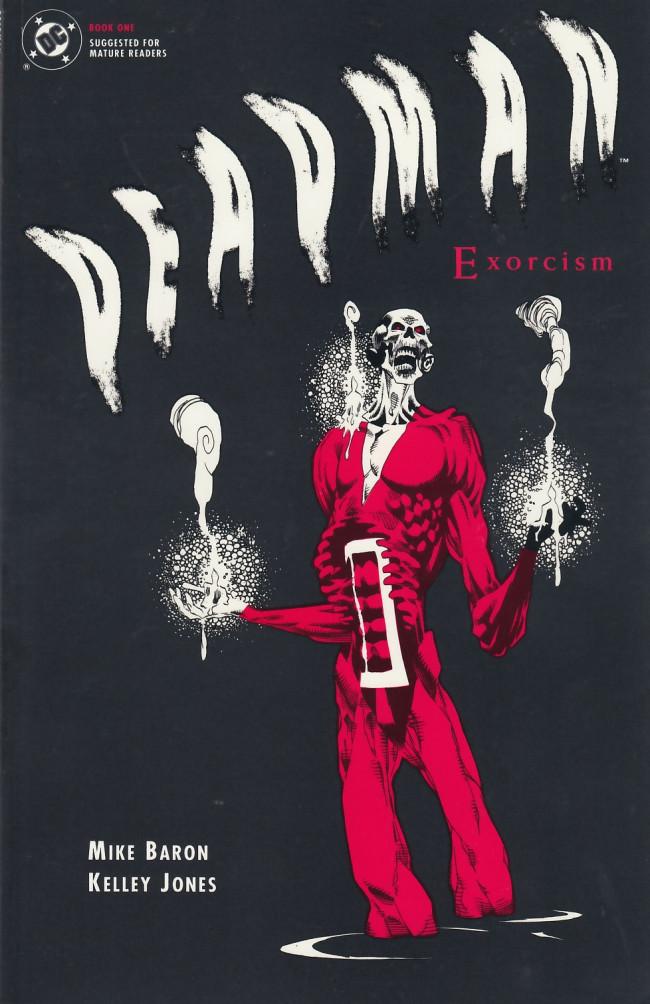 Couverture de Deadman: Exorcism (1992) -1- Deadman: Exorcism book one of two