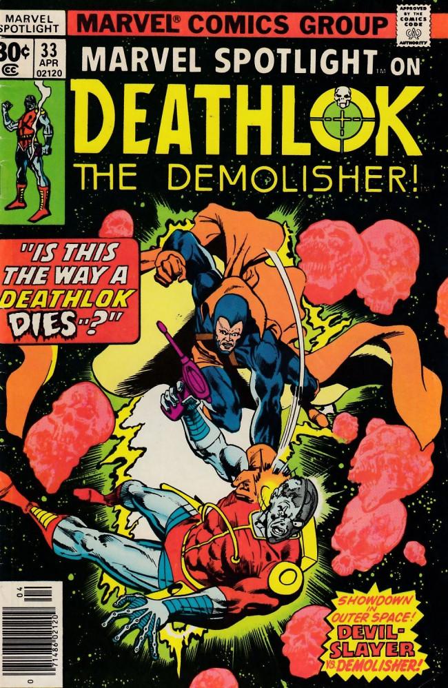 Couverture de Marvel Spotlight Vol 1 (1971) -33- Don't fear the reaper