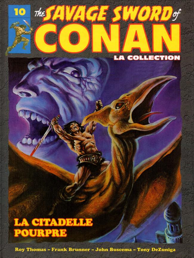 Couverture de Savage Sword of Conan (The) - La Collection (Hachette) -10- La citadelle pourpre