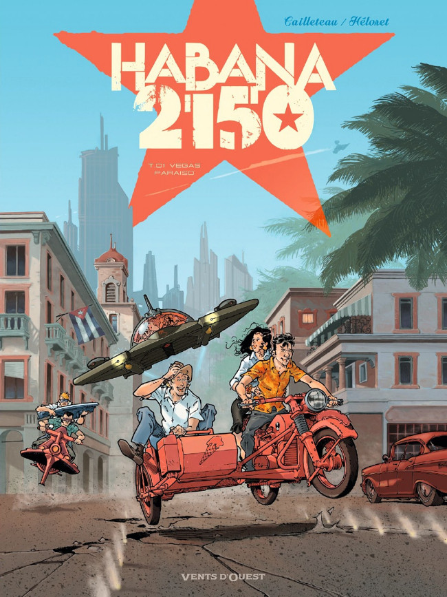 Couverture de Habana 2150 -1- Vegas Paraiso