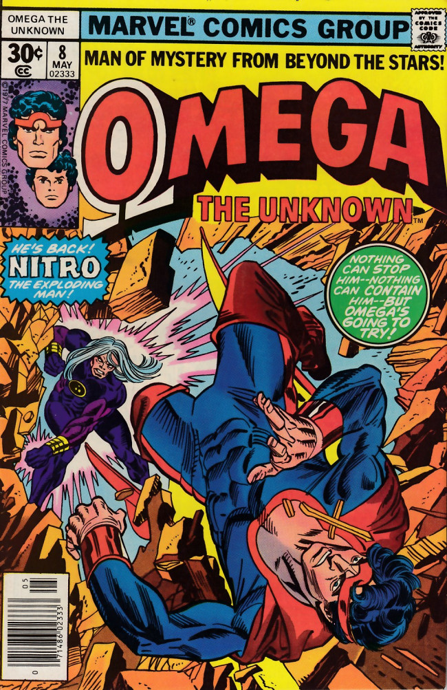 Couverture de Omega the Unknown (1976) -8- Blast from the past