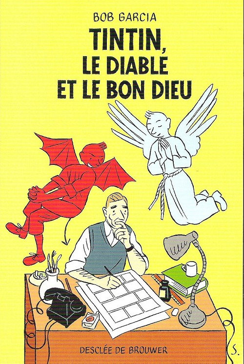 Couverture de (AUT) Hergé -123- Tintin, le Diable et le Bon Dieu