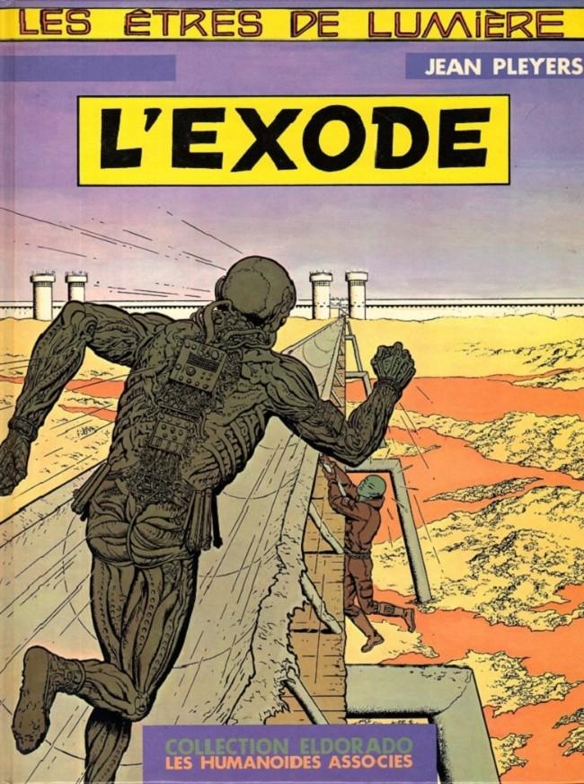 Couverture de Les Êtres de lumière -1- L'Exode