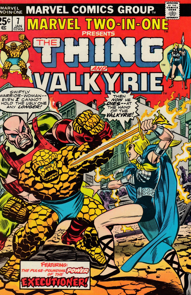 Couverture de Marvel Two-In-One (1974) -7- Name that doom