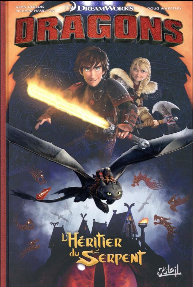 Couverture de Dragons (DreamWorks) - L'Héritier du Serpent