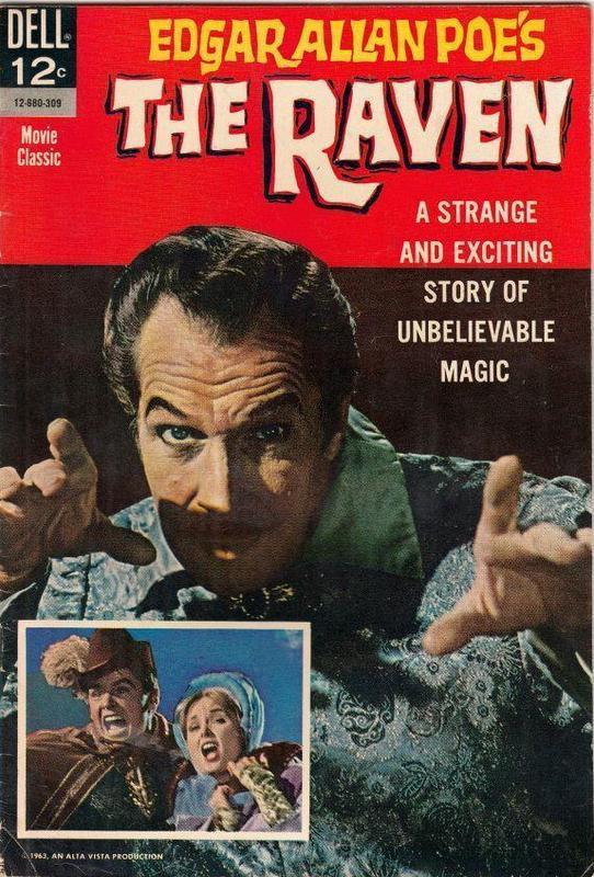Couverture de Movie Classics (Dell - 1962) -680- The Raven