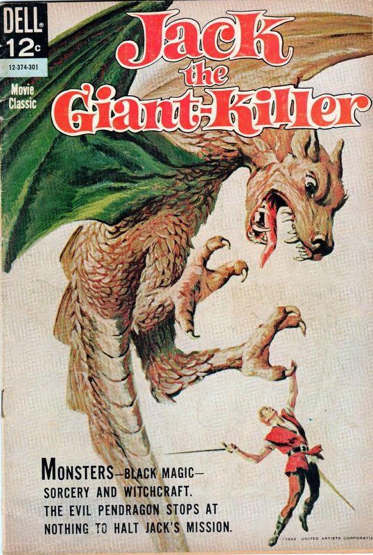 Couverture de Movie Classics (Dell - 1962) -374- Jack the Giant-Killer