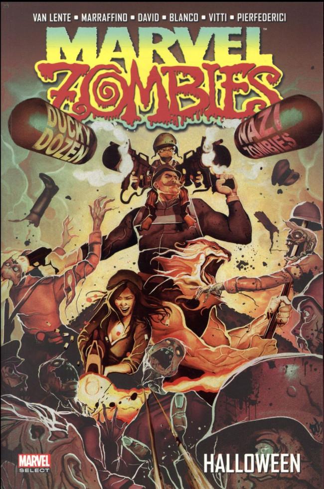 Couverture de Marvel Zombies (Marvel Select) -4- Halloween