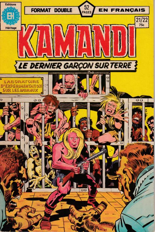 Couverture de Kamandi (Éditions Héritage) -2122- L'hôpital !