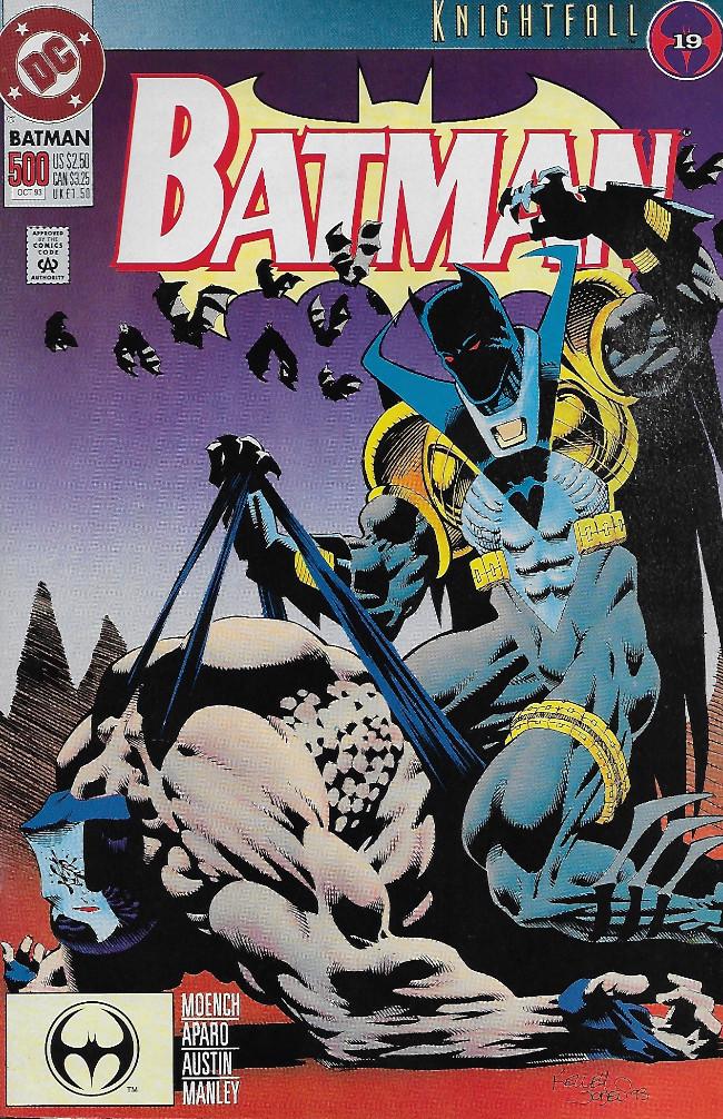 Couverture de Batman Vol.1 (DC Comics - 1940) -500- Dark Angel 1: The Fall