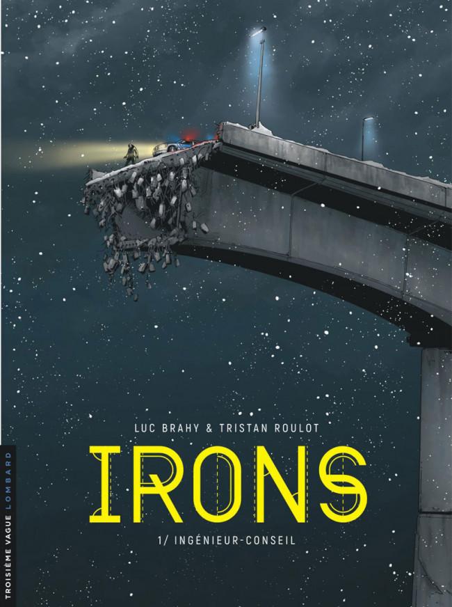 Couverture de Irons -1- Ingénieur-conseil