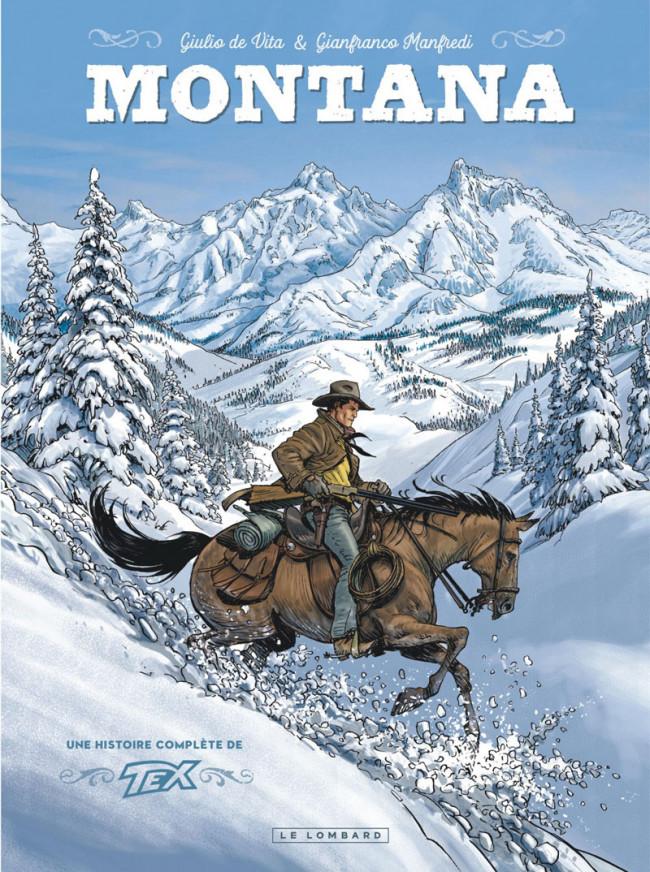 Couverture de Montana - Une histoire complète de Tex - Montana