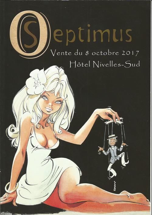 Couverture de (Catalogues) Ventes aux enchères - Divers - Septimus - vente du 8 octobre 2017 - hôtel nivelles-sud
