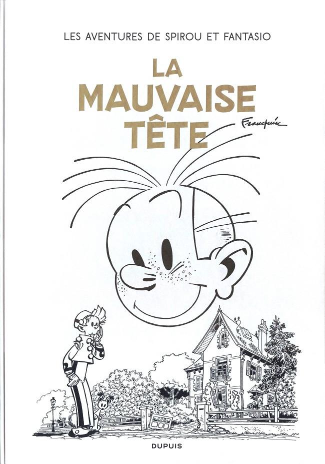 Couverture de Spirou et Fantasio (L'intégrale Version Originale) -9- La mauvaise tête