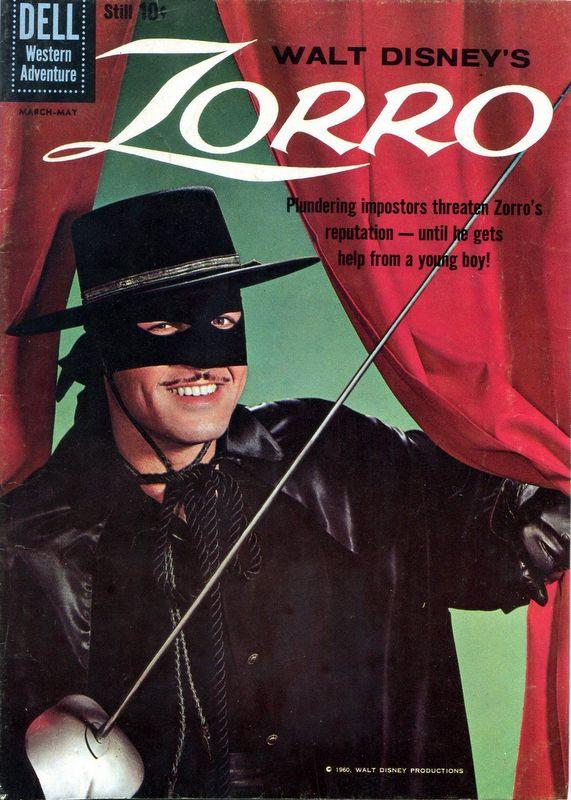 Couverture de Walt Disney's Zorro (Dell - 1960) -9- (sans titre)