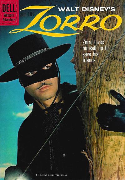 Couverture de Walt Disney's Zorro (Dell - 1960) -10- (sans titre)