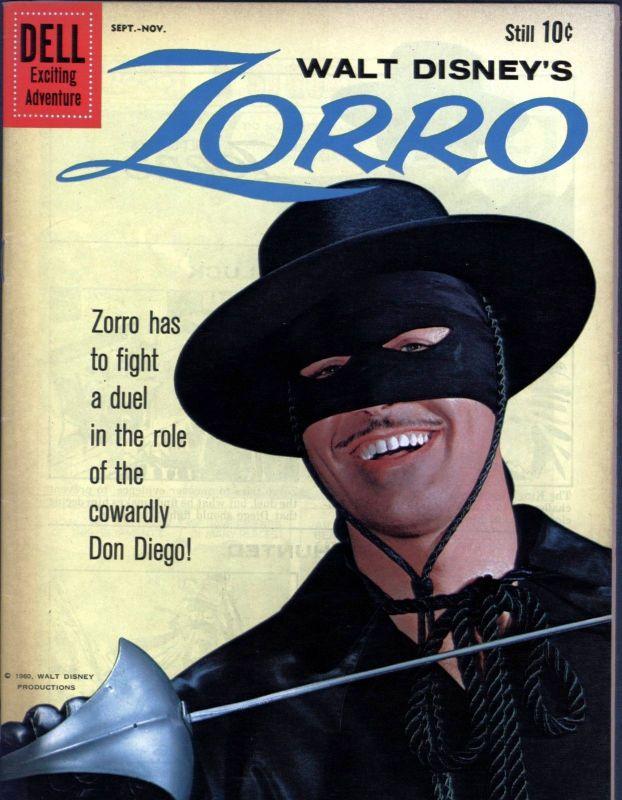 Couverture de Walt Disney's Zorro (Dell - 1960) -11- (sans titre)