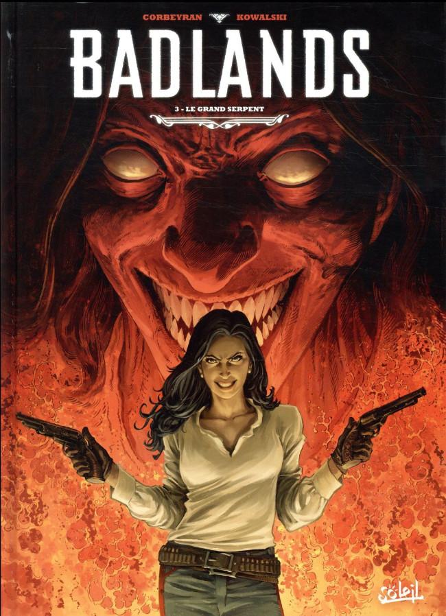 Couverture de Badlands -3- Le grand serpent