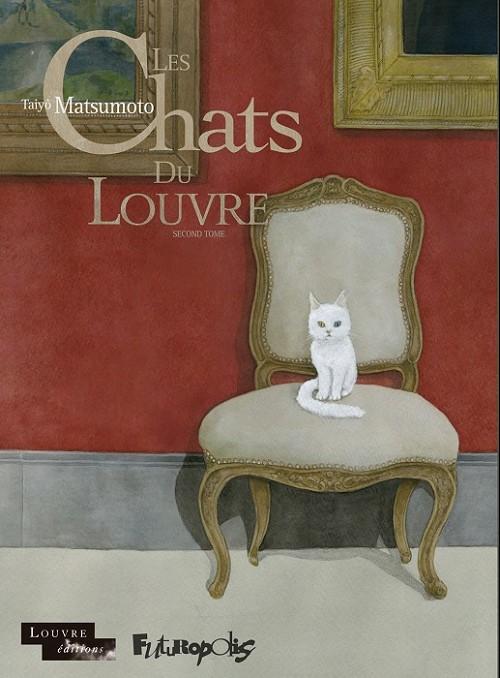 Couverture de Les chats du Louvre -2- Second tome