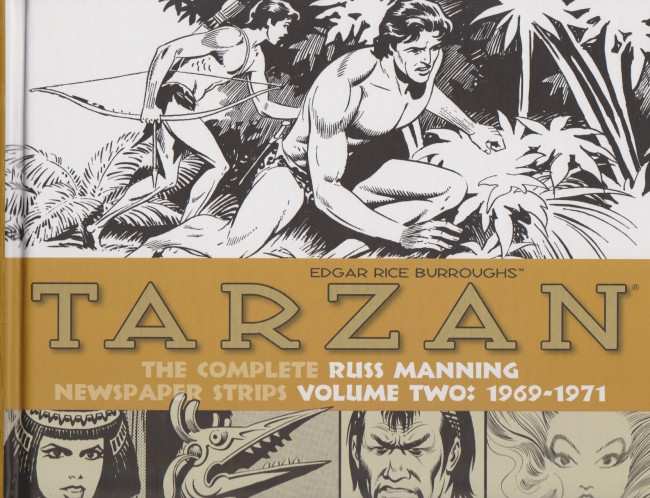 Couverture de Tarzan: The Complete Russ Manning Newspaper Strips (2013) -2- Volume Two: 1969-1971