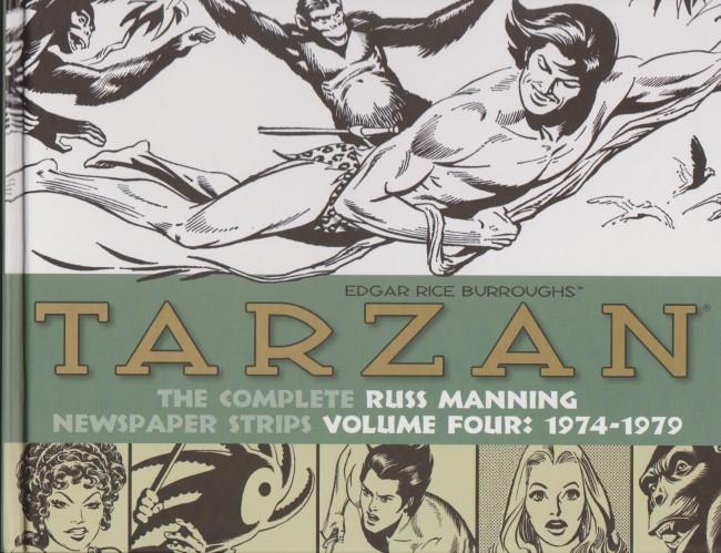 Couverture de Tarzan: The Complete Russ Manning Newspaper Strips (2013) -4- Volume Four: 1974-1979