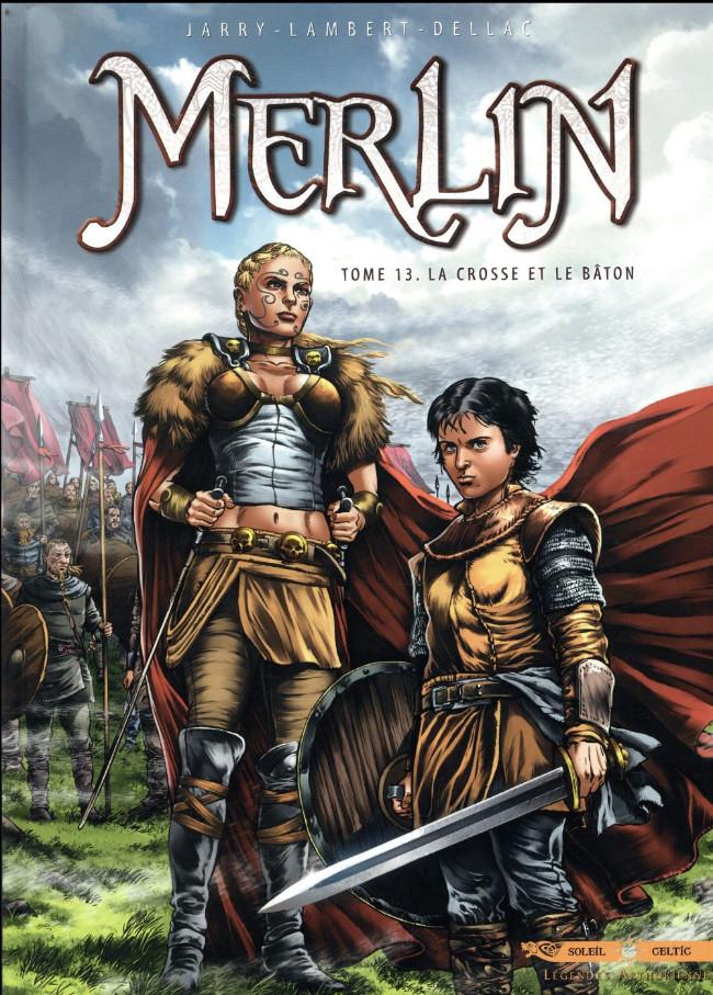 Couverture de Merlin (Istin/Lambert) -13- La crosse et le bâton