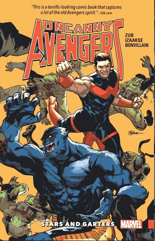 Couverture de Uncanny Avengers [II] (2015) -INT05- Stars and Garters