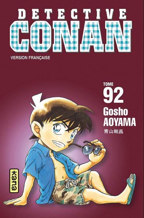 Couverture de Détective Conan -92- Tome 92