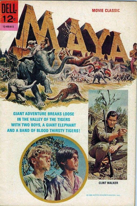 Couverture de Movie Classics (Dell - 1962) -612- Maya