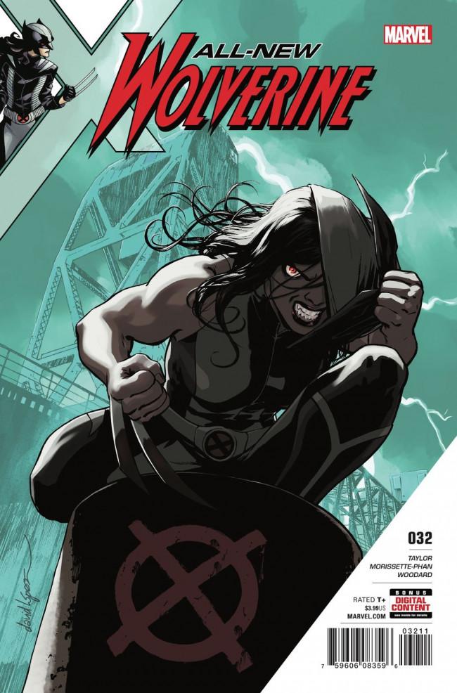 Couverture de All-New Wolverine (2016) -32- The Orphans
