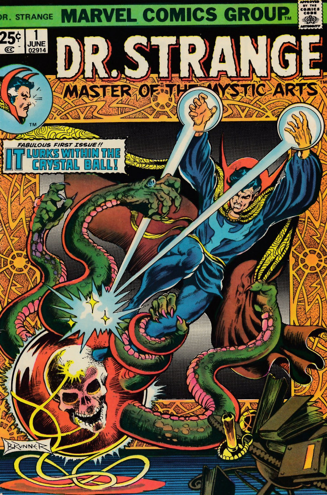 Couverture de Doctor Strange (1974) -1- Through an orb darkly