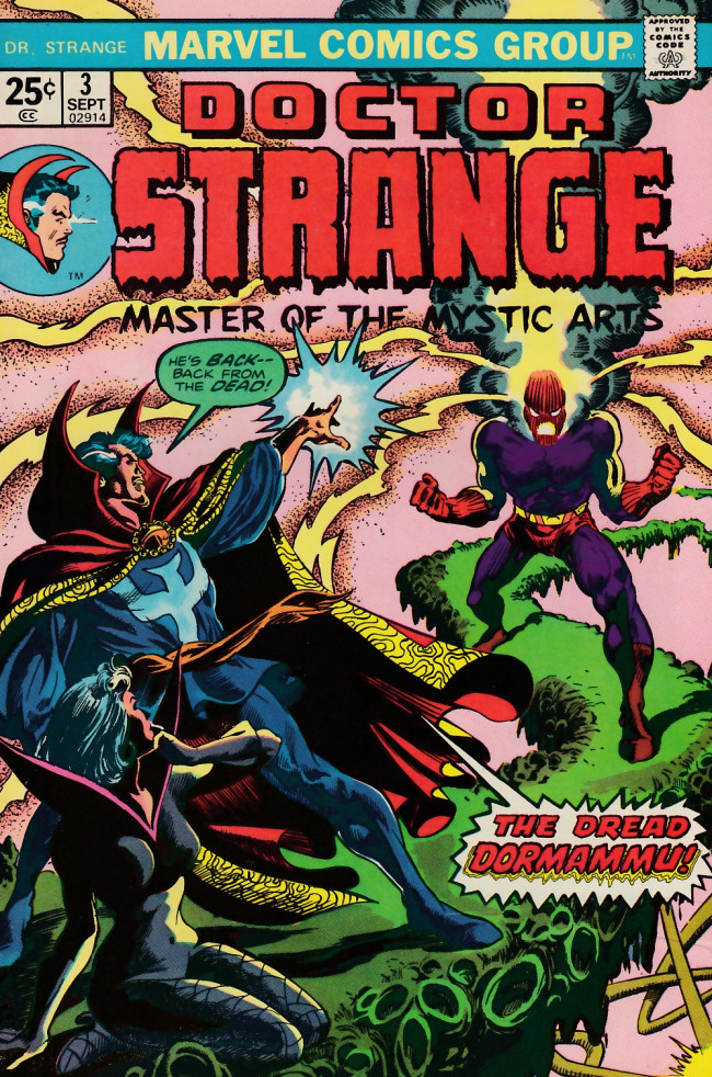 Couverture de Doctor Strange (1974) -3- Amidst the madness