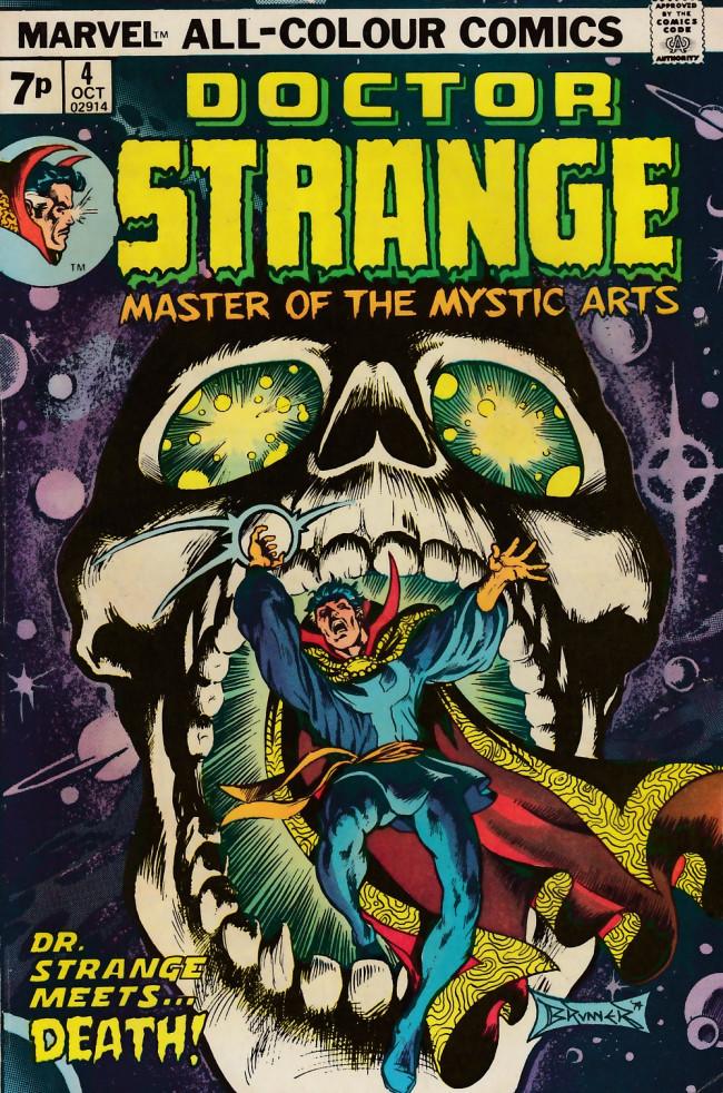 Couverture de Doctor Strange (1974) -4UK- ...Where boud'ries