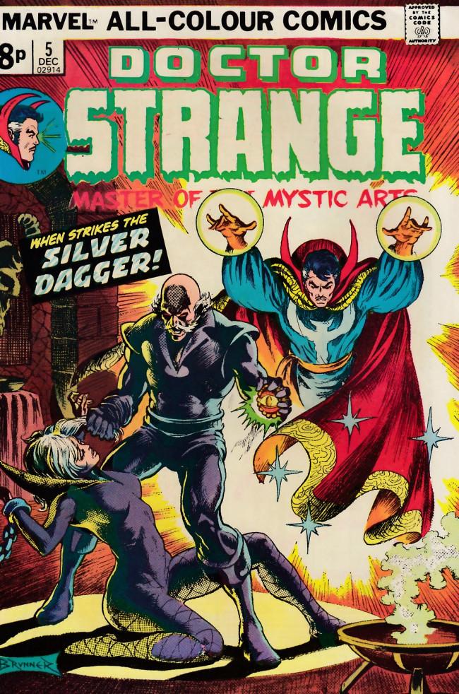 Couverture de Doctor Strange (1974) -5UK- Cloak and dagger