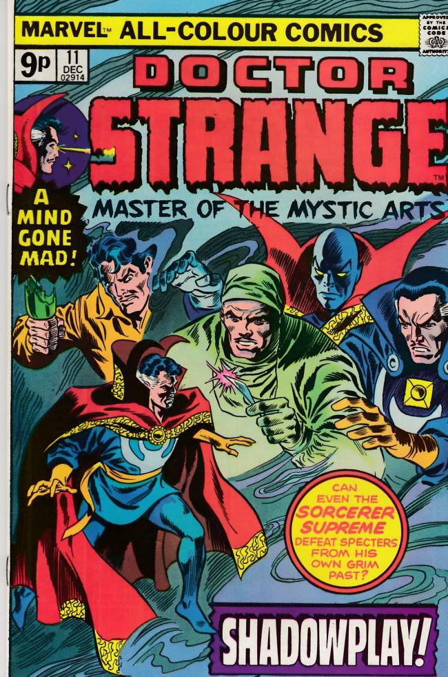 Couverture de Doctor Strange (1974) -11UK- Shadowplay!
