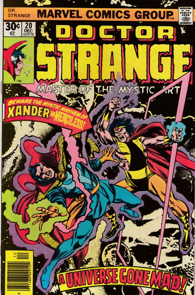 Couverture de Doctor Strange (1974) -20- Call him Xander, the merciless