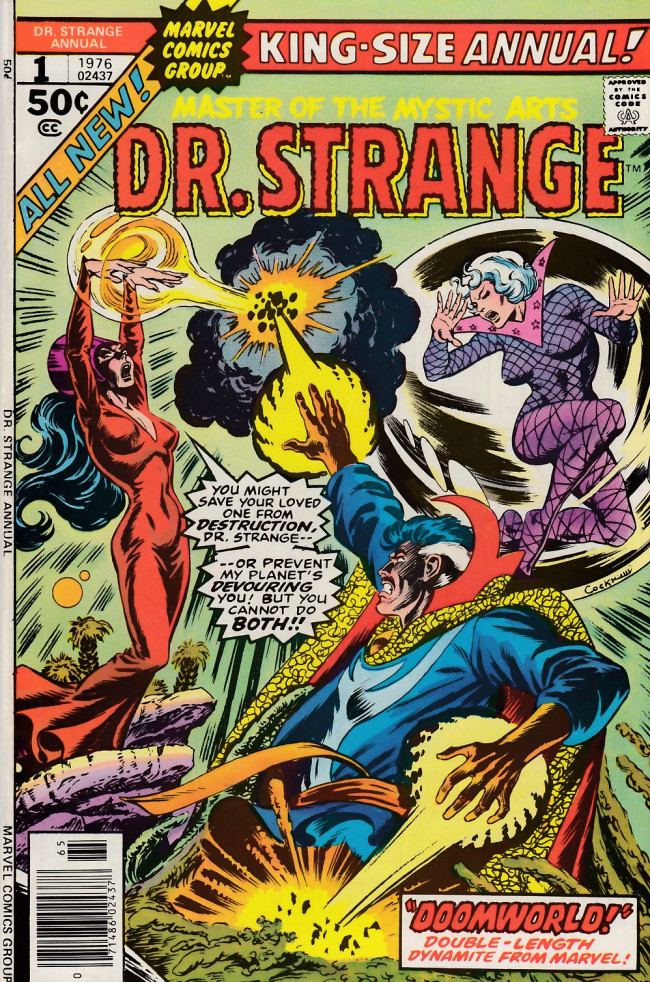 Couverture de Doctor Strange (1974) -AN01- ...And there will be worlds anew