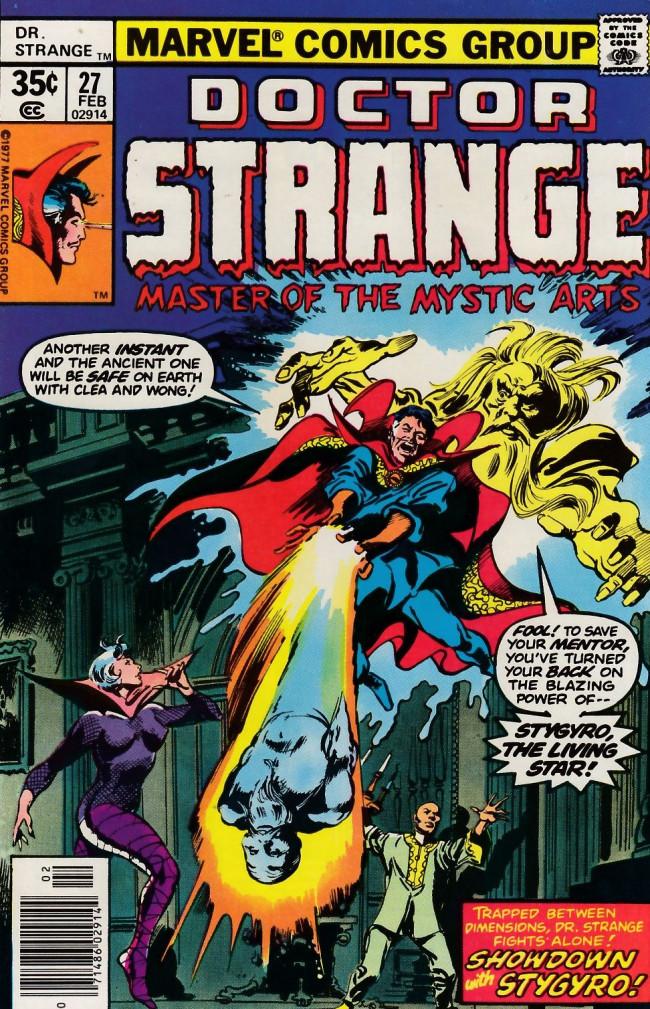 Couverture de Doctor Strange (1974) -27- I... The In-Betweener