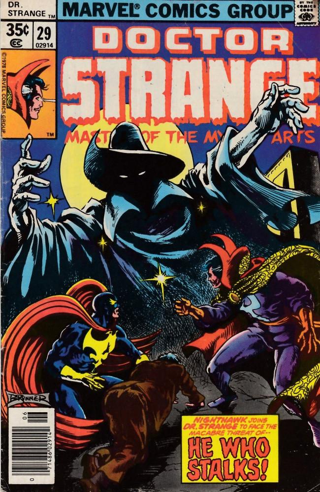 Couverture de Doctor Strange (1974) -29- He who stalks