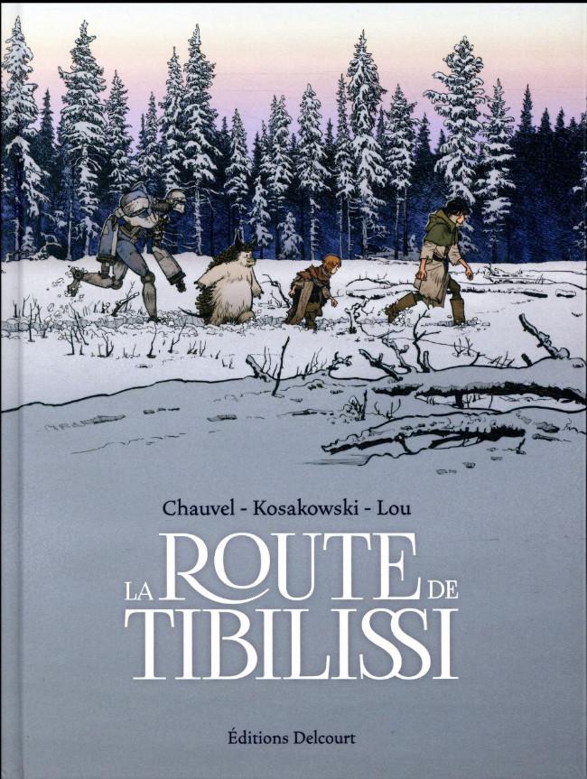 Couverture de La route de Tibilissi